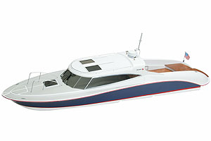 RC sports motor yacht