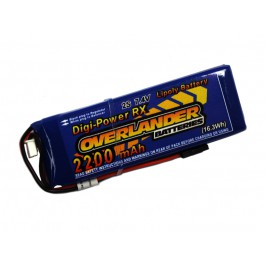 Digi-Power Lipo Receiver Pack 2200mAh battery