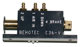 Behotec C36-V2 Air up/down valve with brake operation