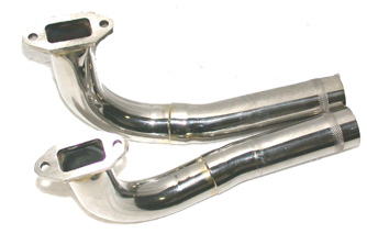 Zimmerman Header Pipe DA100-120 Pair (25mm dia) (Z3054)