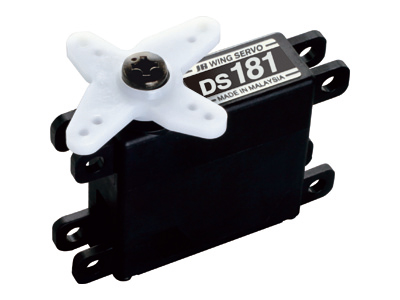 JR DS181 - 3.7Kg/0.22s Metal-Geared Digital Wing Servo