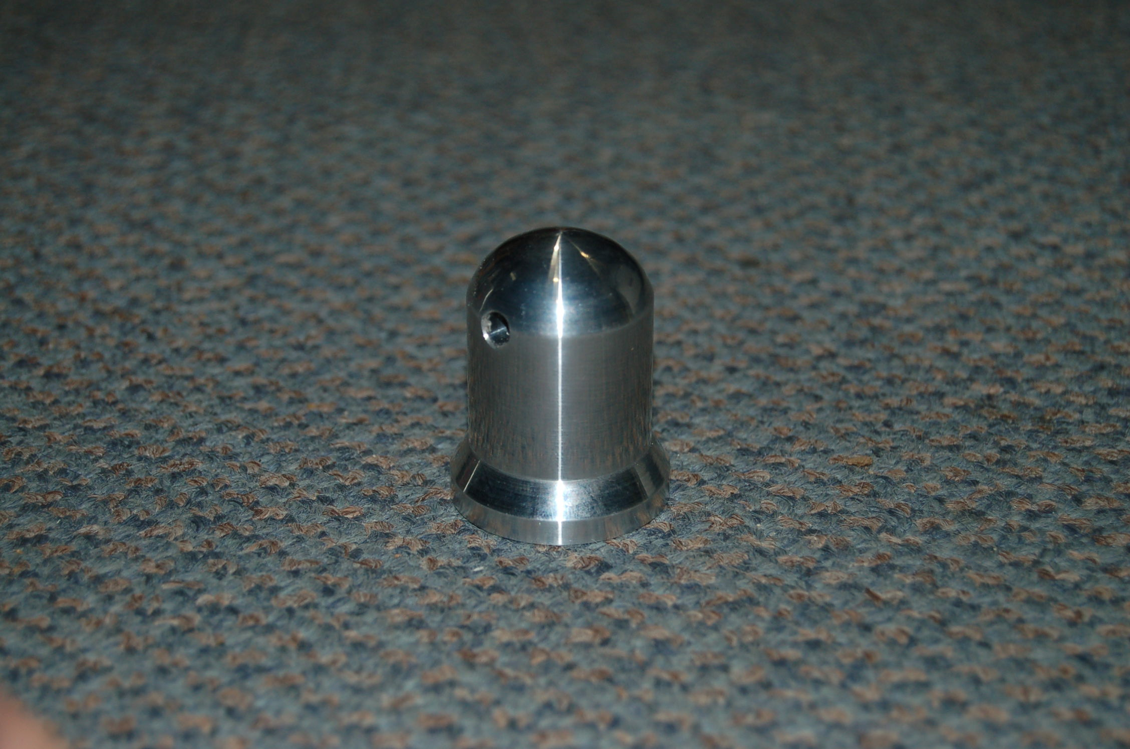 Domed scale type Spinner Nut