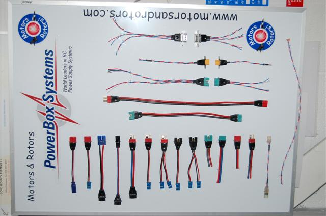 Range Of Extension Leads With MPX/Deans Ends
