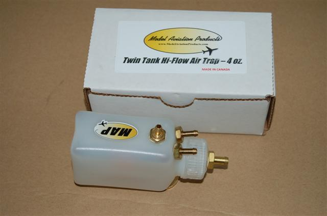 Hi-Flow Bubble Trap (twin tank feed) 4oz