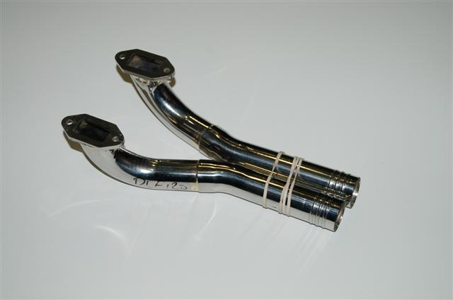 Zimmermann DLE 120 Headers 50mm drop
