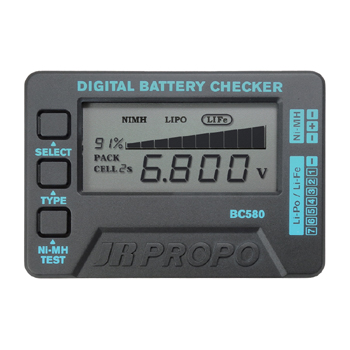 BATTERY CHECKER BC580