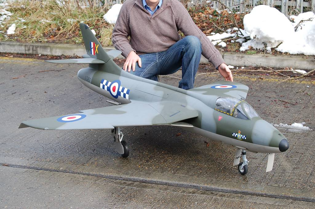 Ripmax/Flying Legends Hawker Hunter 1/6 scale ARF MKVI