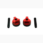 Wing Bolts M6 (Steel Screw) (Red)