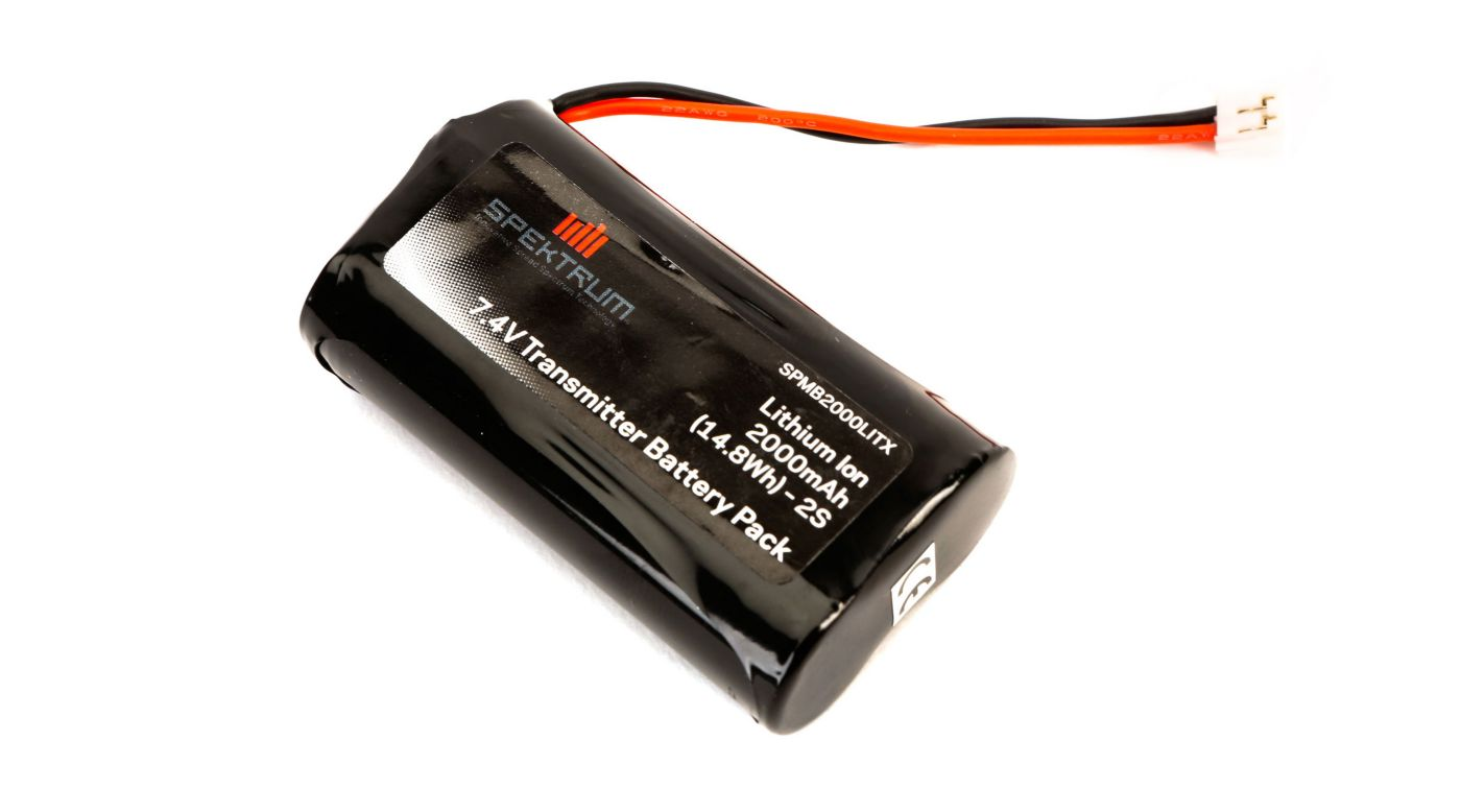 (DX8 DX9) Tx battery 2000mAh
