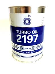BP 2197 Turbine Oil Quart (3 * quart tins)
