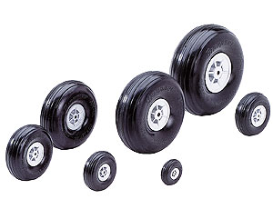 Graupner 100mm wheels (165.100 )