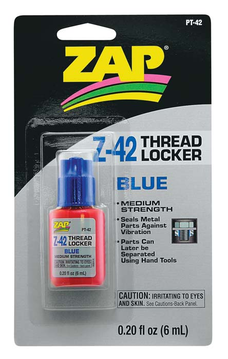 ZAP42 Blue thread lock